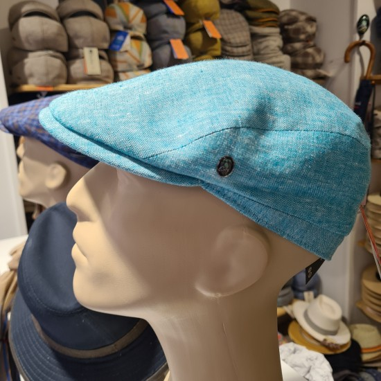 Casquette Plate Turquoise...