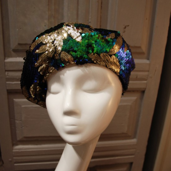 Sequined Beret by Lauhère