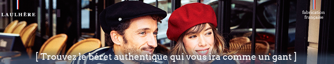 Trouvez l'authentique béret français