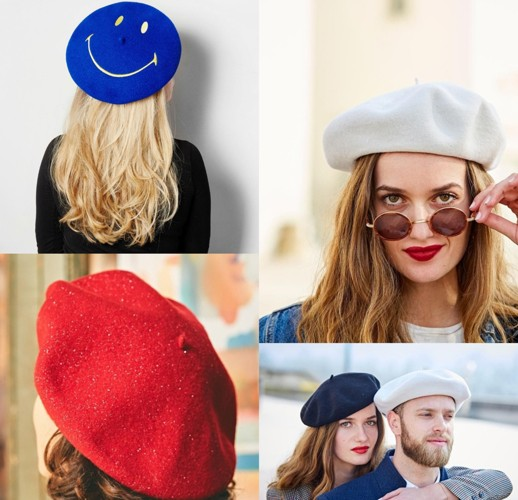 The Authentic French Beret, for Men, Women and Children