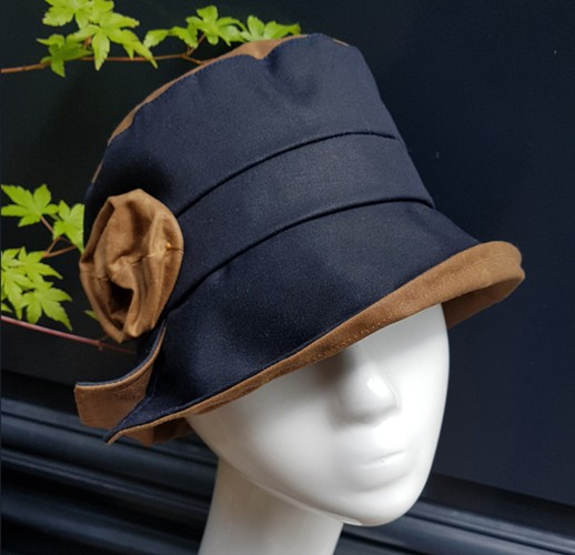 Rain hats made by hand in Normandy, France