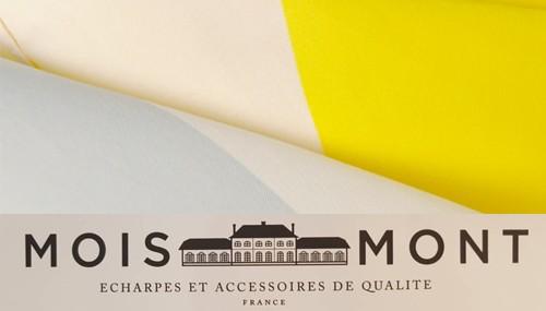 Les foulards et carrés de la marque picarde Moimont